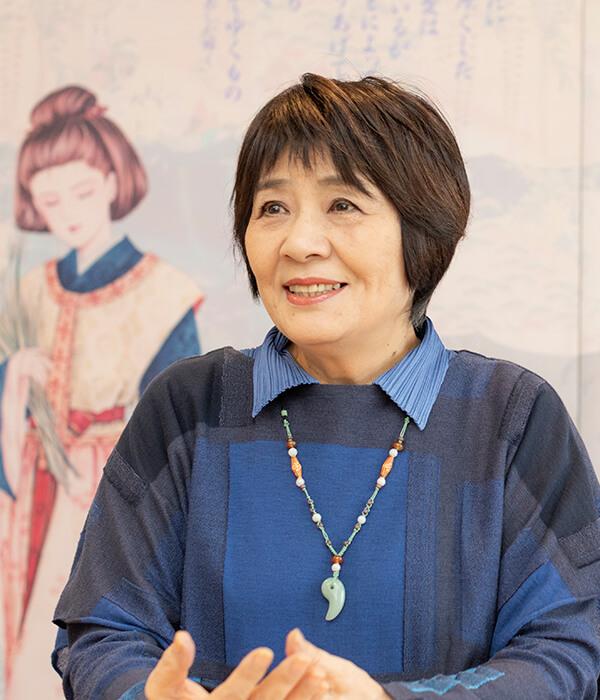 マンガ家の里中満智子さん